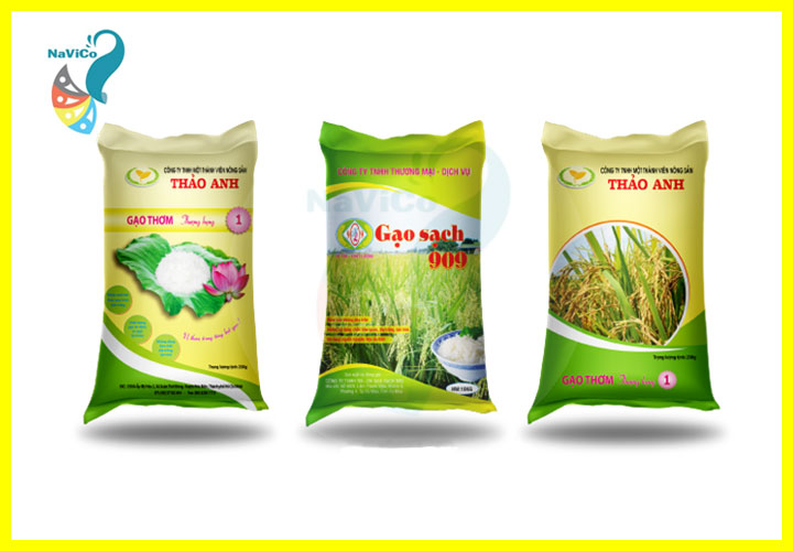 NAVICO - Công ty thiết kế bao bì đựng gạo chuyên nghiệp