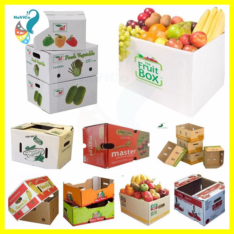 Thùng,hộp giấy đựng trái cây